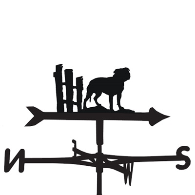 WEATHERVANE in Staffordshire Terrier Design