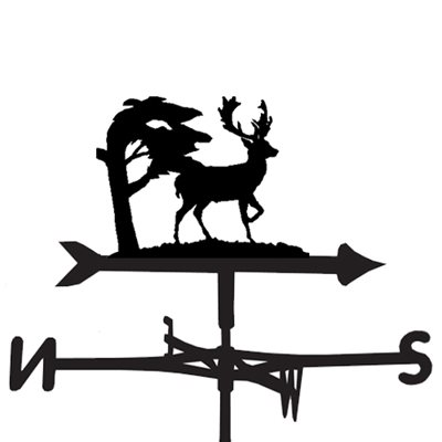 Weathervane in Stag Design