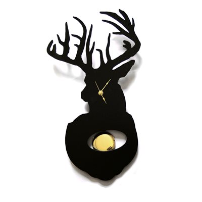 STAG CLOCK with Pendulum