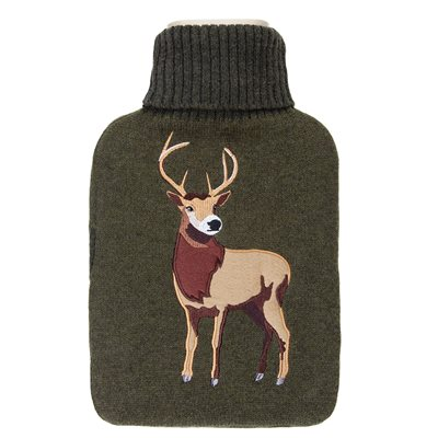 AROMA HOME SCENTED STAG HOT WATER BOTTLE