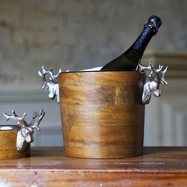 Culinary Concepts Huntsman Wooden Wine Cooler