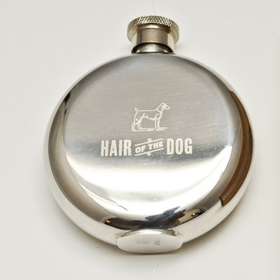 MEN'S SOCIETY HAIR OF THE DOG HIP FLASK