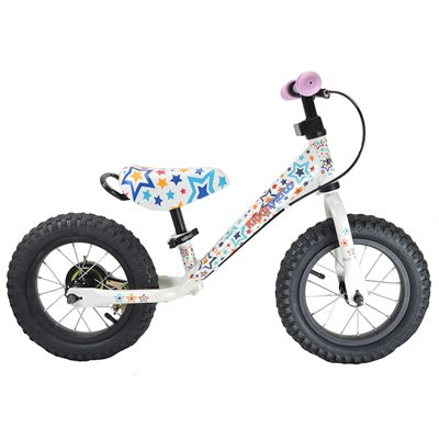 SUPER JUNIOR MAX BALANCE BIKE in Stars by Kiddimoto