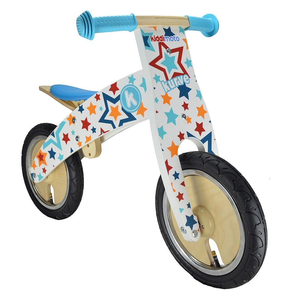 Kurve Balance Bike In Stars Design By Kiddimoto