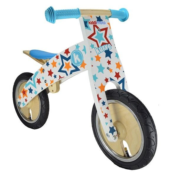 Unisex Wooden Balance Bike for Toddlers