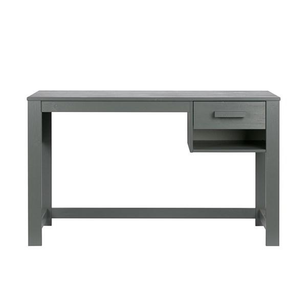 Dennis Junior Computer Desk in Steel Grey