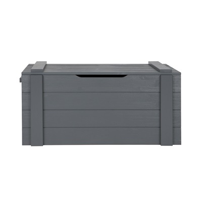 Dennis Kids Storage Box in Steel Grey by Woood