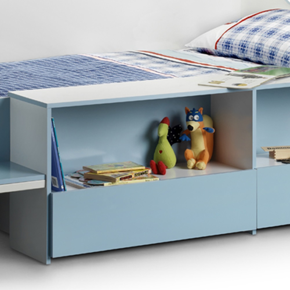 Stella Low Sleep Kids Bed In Sky Blue