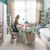 Vox Stige Small Desk with 2 Drawers
