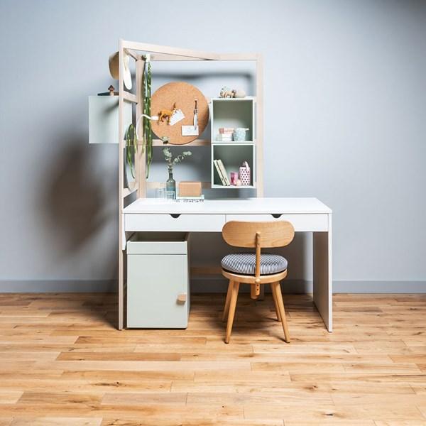 Vox Stige Large Desk with Wooden Ladder