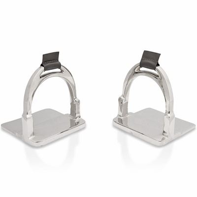 RIDING STIRRUP Bookends by Culinary Concepts