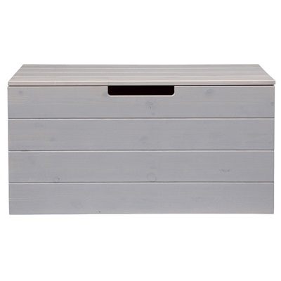 CONTEMPORARY STORAGE BOX in Brushed Pine
