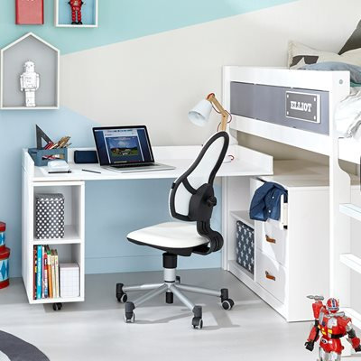 LIFETIME STORAGE CABINET WITH TURNING DESK