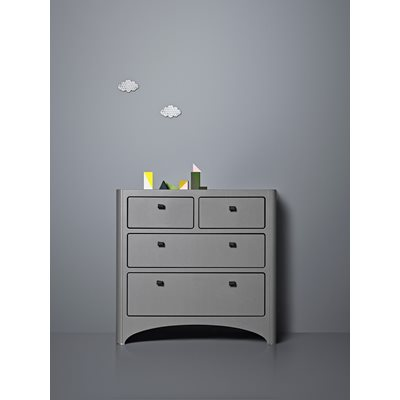 LEANDER Chest Of Drawers in Grey