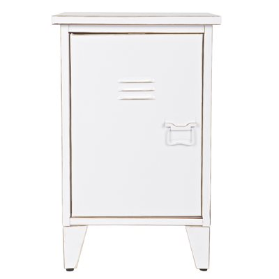 MODERN KIDS METAL BEDSIDE TABLE