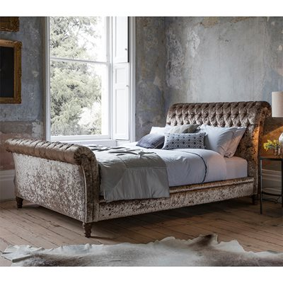STRAND UPHOLSTERED BED FRAME by Frank Hudson