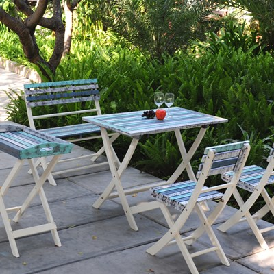 Strassbourg Folding Garden Furniture Set   Garden Tables U0026 Chairs |  Cuckooland