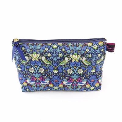 STRAWBERRY THIEF LIBERTY COSMETIC BAG