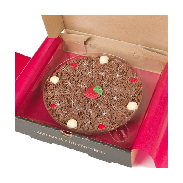 Strawberry Sensation Chocolate Covered Pizza