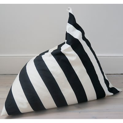 WILDFIRE KIDS PYRAMID BEAN BAG in Stripe Design