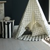 Cotton Canvas Toy Storage by Wild Fire