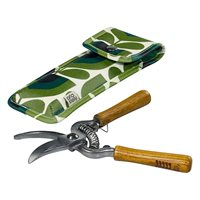 Orla Kiely Striped Tulip Pruning Secateurs in a Pouch