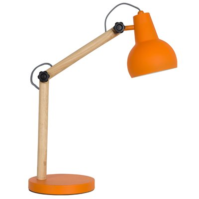 STUDY DESK LAMP in Orange