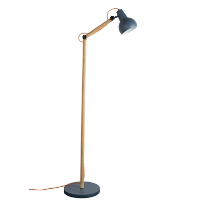 STUDY FLOOR LAMP in Dark Grey