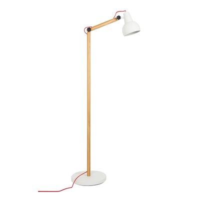STUDY FLOOR LAMP in White