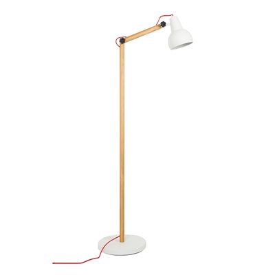 STUDY FLOOR LAMP in White