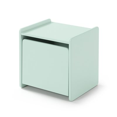KIDDY BEDSIDE TABLE in Mint Green