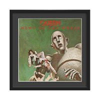 QUEEN FRAMED ALBUM WALL ART in News Of The World Print  Large