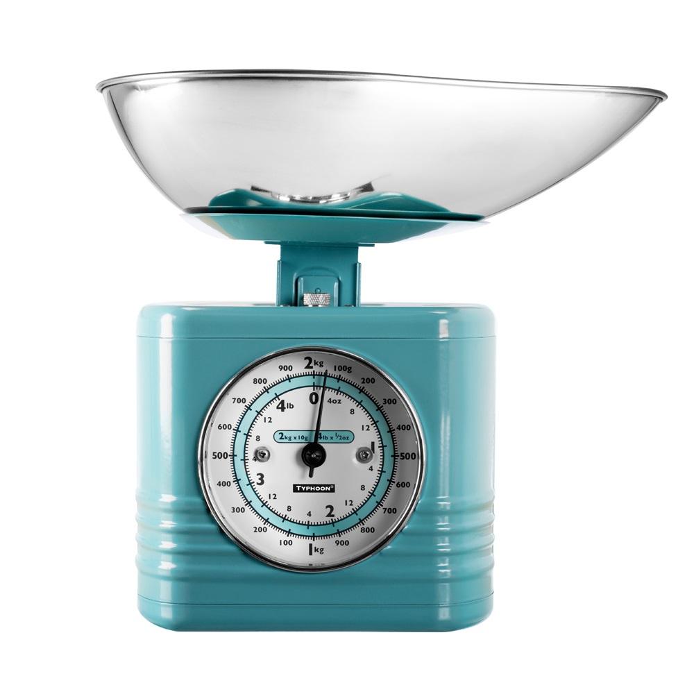 Typhoon Vintage Kitchen Scales In Summer House Blue Kitchen Accessories Cuckooland