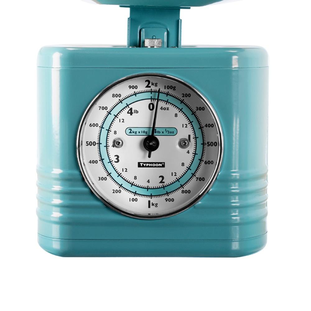 Retro Kitchen Scales Blue - Kitchen Designs