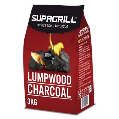 LUMPWOOD CHARCOAL for POD Kettle and Table Top BBQ's
