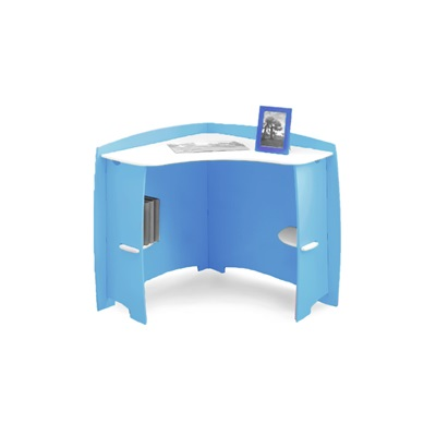 EASY FIT KIDS CORNER DESK in 'Surfs Up' Design