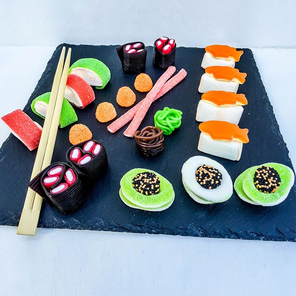 Unique Sushi Shaped Sweets for Food Fans