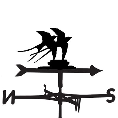 Weathervane in Swallow Design