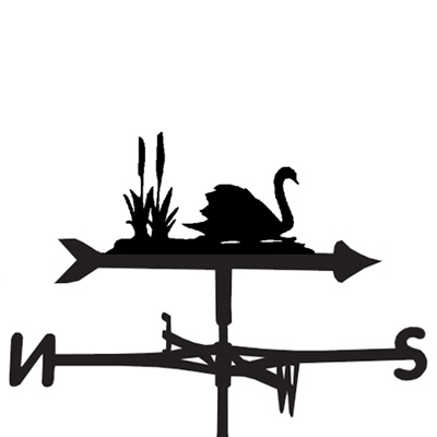 Weathervane in Swan Design