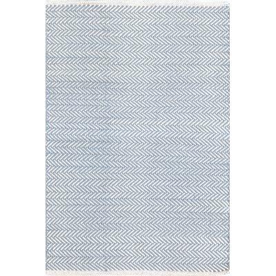 INDOOR HERRINGBONE RUG in Swedish Blue
