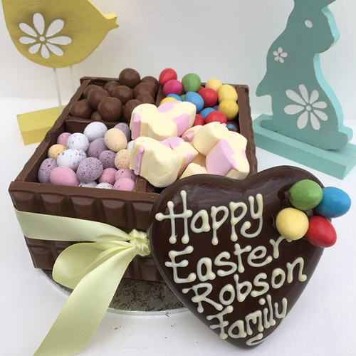 Personalised Easter Chocolate Box