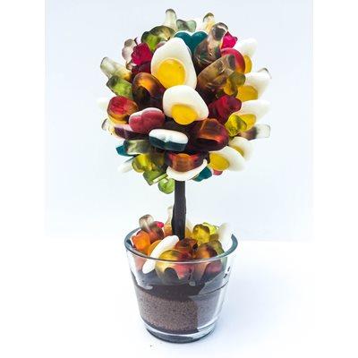 PERSONALISED HARIBO PICK & MIX CHOCOLATE SWEET TREE