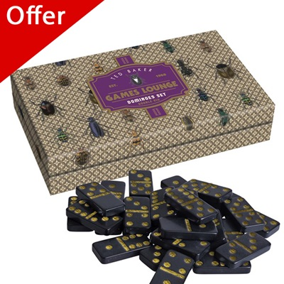TED BAKER Dominoes Set in Beetle Design