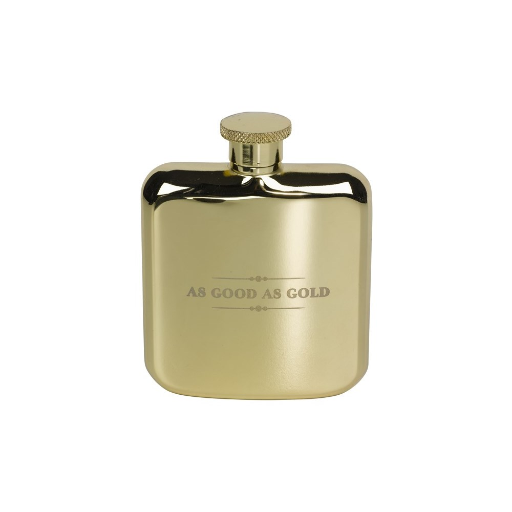 57185869310e8 Ted Baker Hip Flask In Gold - Wild And Wolf
