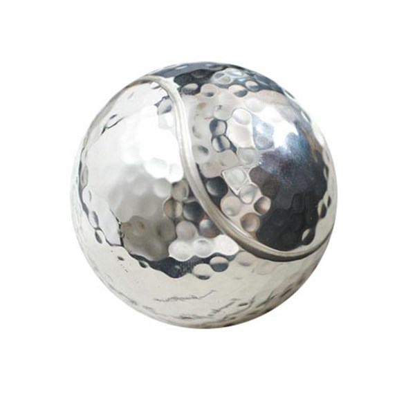 Paper weight silver tennis ball
