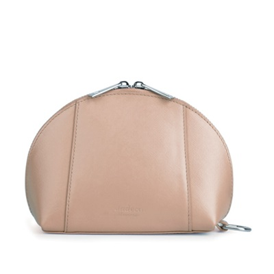 GILLAN Fashion Cosmetic Bag Phone Charger in Toffee