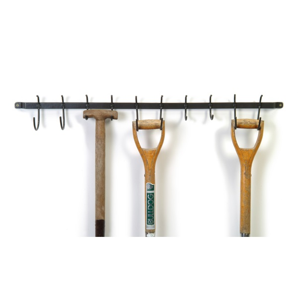tool hook shed or garage storage rail or rack or tool tidy