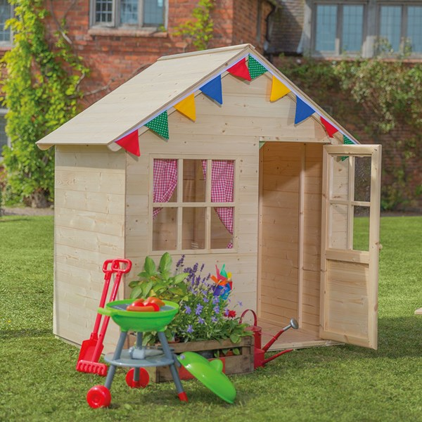 TP Toys Forest Hideaway Wooden Playhouse