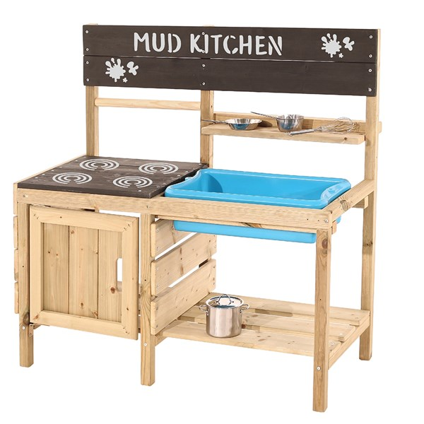 TP Toys Muddy Maker Wooden Mud Kitchen