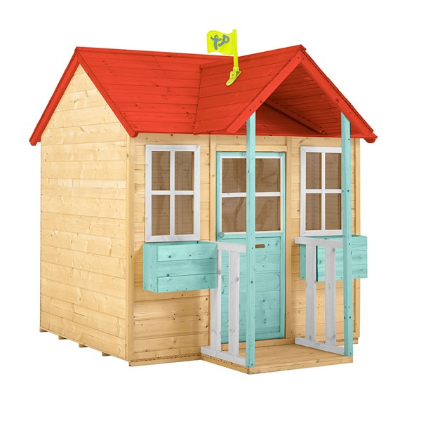 TP Toys Manor Wooden Playhouse